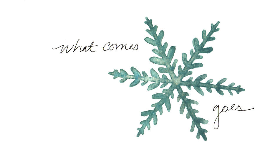 What comes goes by Anna Elkins
