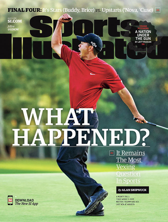 What Happened It Remains The Most Vexing Question In Sports Sports Illustrated Cover Photograph by Sports Illustrated