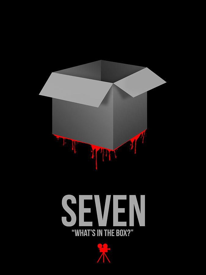 Seven Digital Art - Whats In The Box by Naxart Studio
