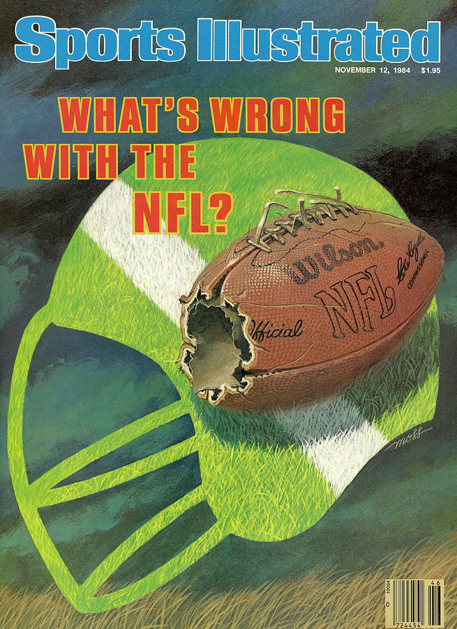 Whats Wrong With The Nfl Sports Illustrated Cover Photograph by Sports Illustrated