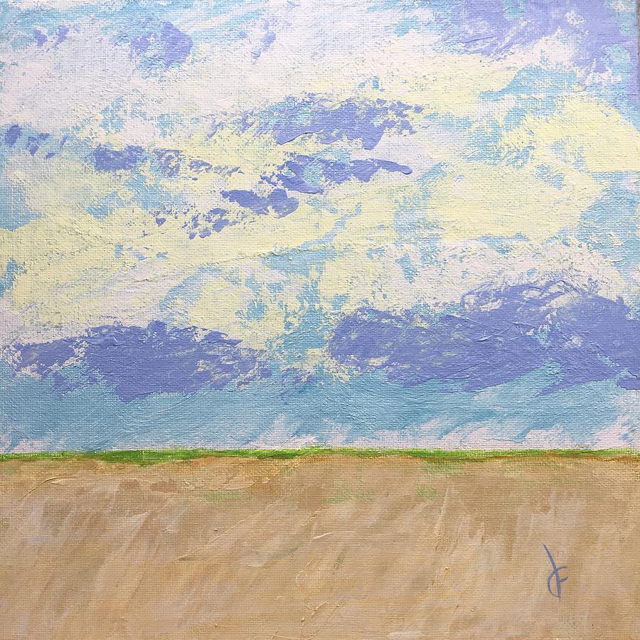 Wheat Field by Danielle Fry