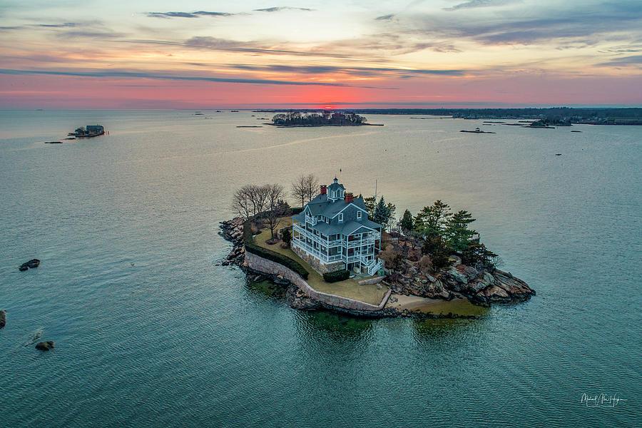 Wheeler Island Sunset by Michael Hughes