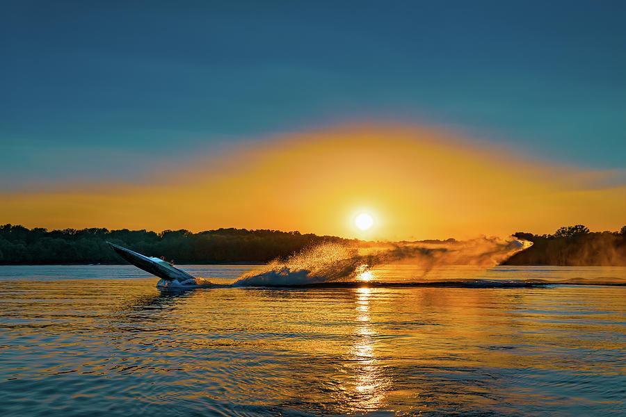 Wheelie on the Water by Robert FERD Frank