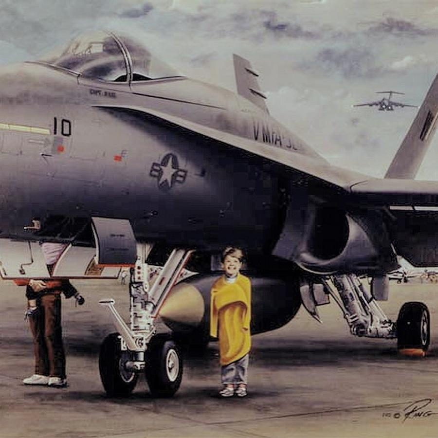 Boeing Painting - When I Grow Up by Peter Ring Sr