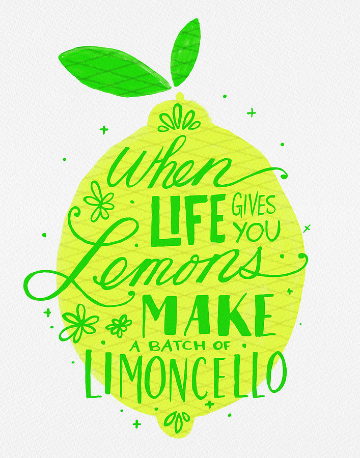 When Life Gives You Lemons Make a Batch of Limoncello by Jen Montgomery