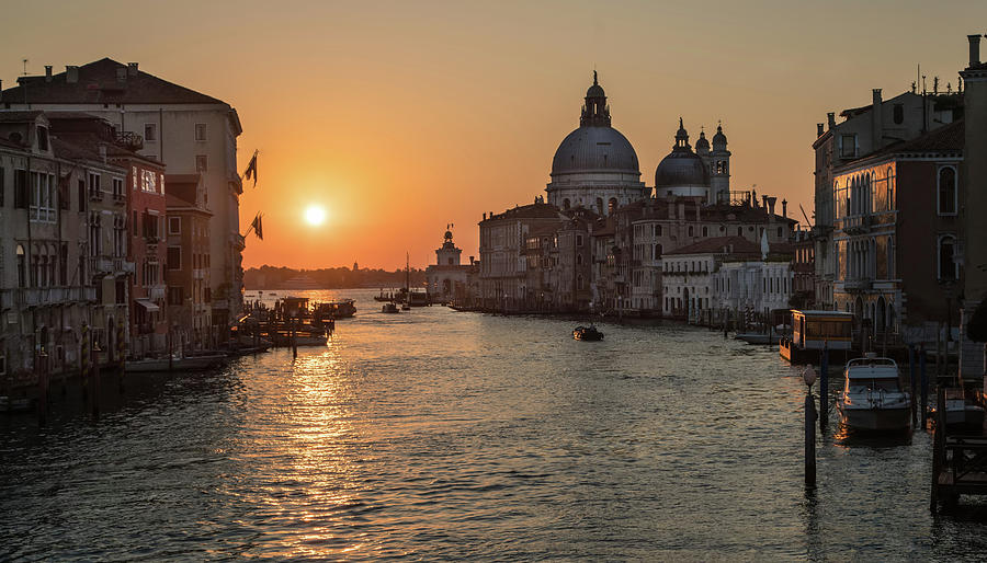 Italy Photograph - When The New Day Begins by Jaroslaw Blaminsky