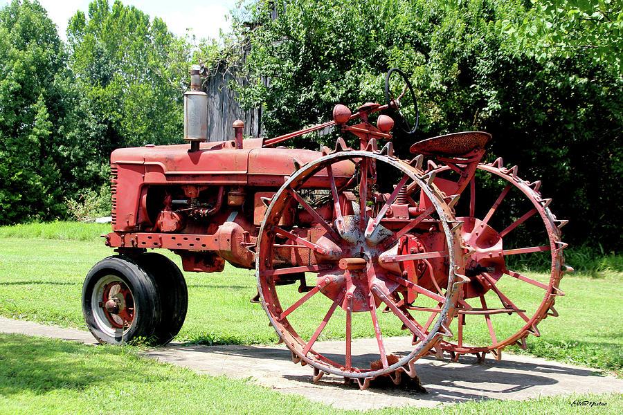 When Tractor Wheels Were Steel 1385 by Ericamaxine Price