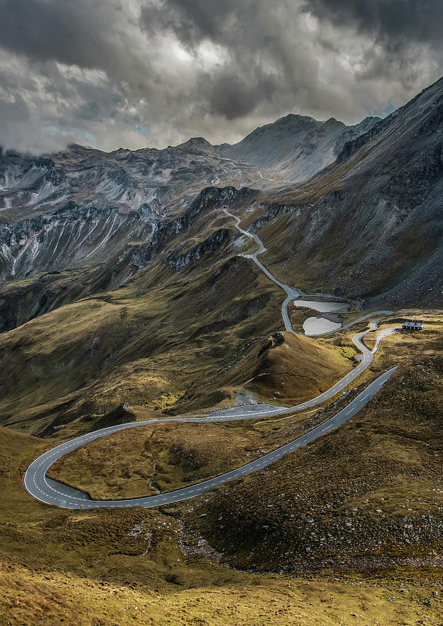 Road Photograph - When You Get To The Top by Jaroslaw Blaminsky