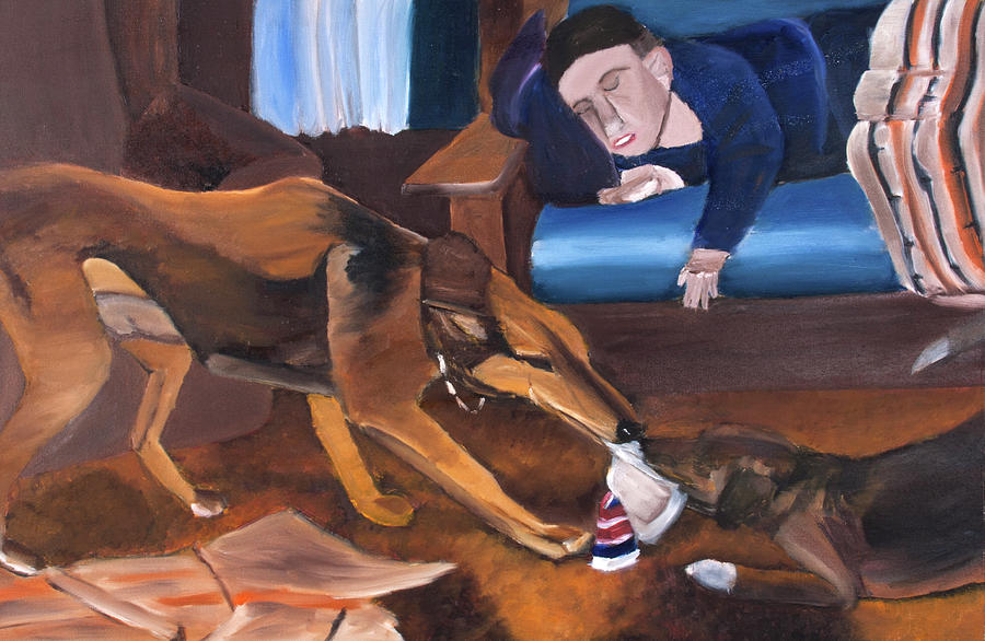 When You Nap, The Dogs Will Play by David Martin