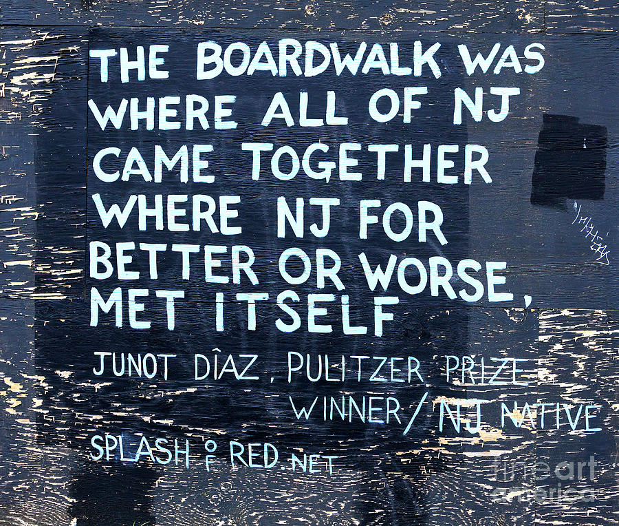 Boardwalk Photograph - Where All Of New Jersey Came Together by John Rizzuto