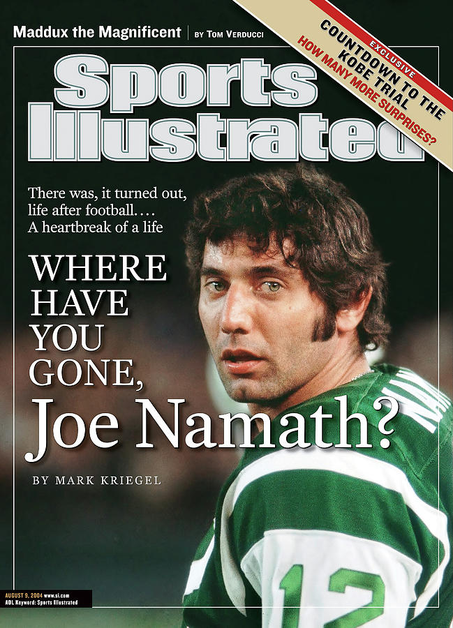 Where Have You Gone, Joe Namath Sports Illustrated Cover Photograph by Sports Illustrated