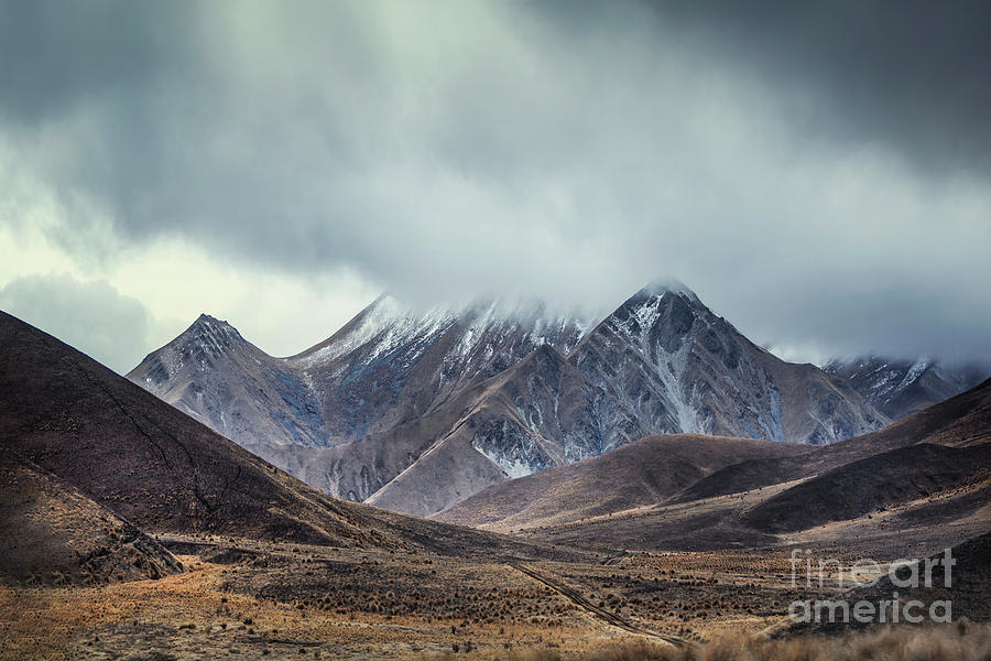 Where Mountains Rise Photograph