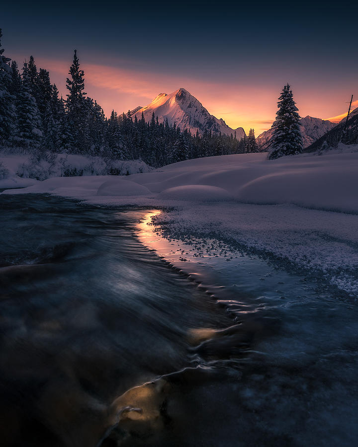 Canadian Photograph - Where The Light Guides You by Simon Roppel