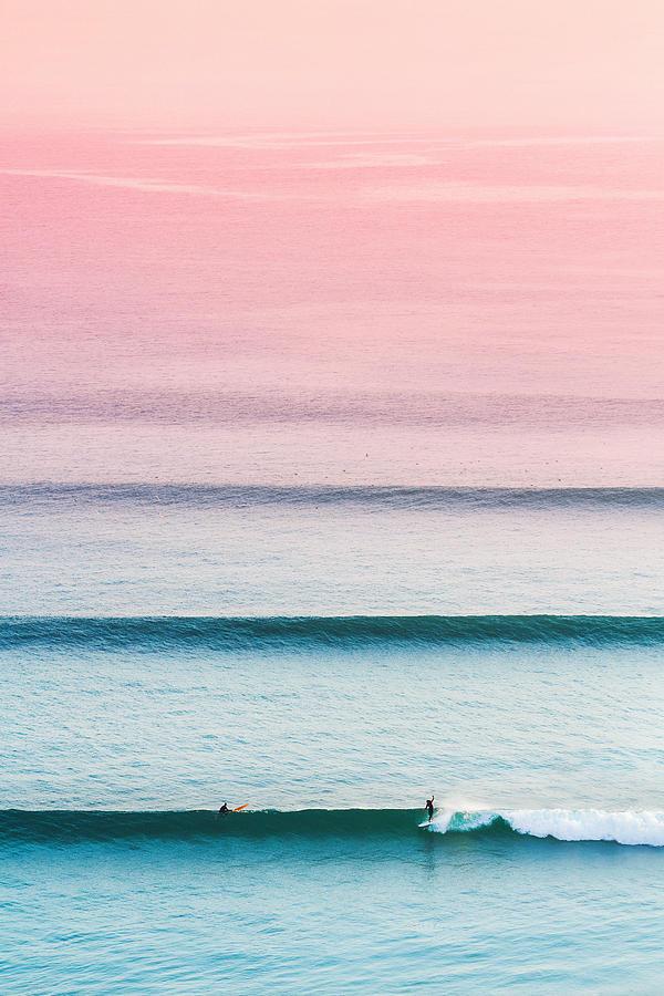 Surfer Photograph - Where the magic happens. by Mariss Balodis