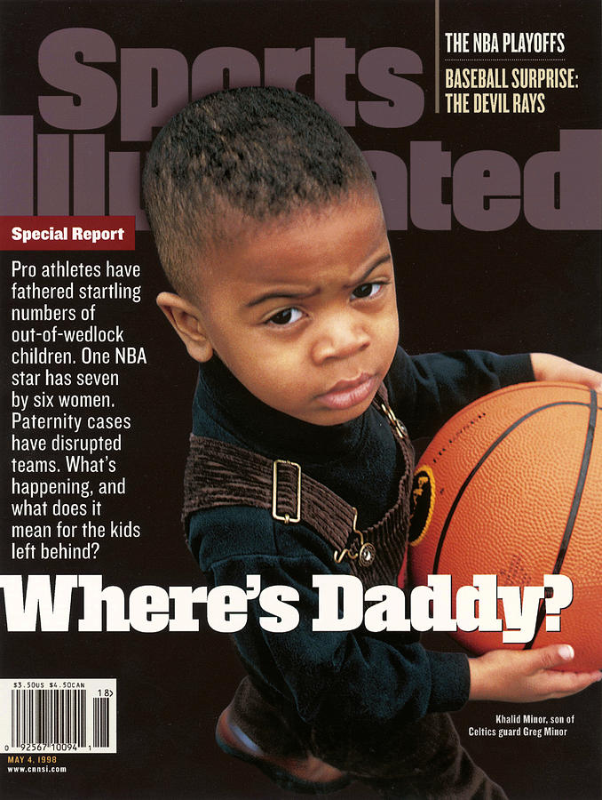Wheres Daddy Special Report On Athletes And Paternity Sports Illustrated Cover Photograph by Sports Illustrated