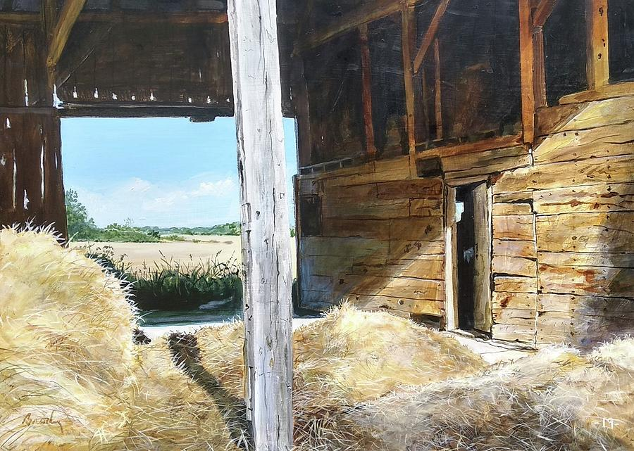 Barn Painting - While The Sun Shines by William Brody