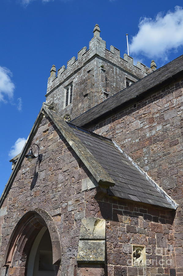 Church Photograph - Whimple Church by Andy Thompson