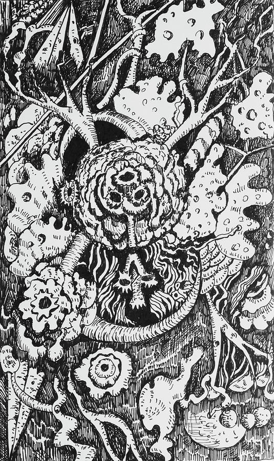 Whimsical Doodle 1 by Yulia Kazansky
