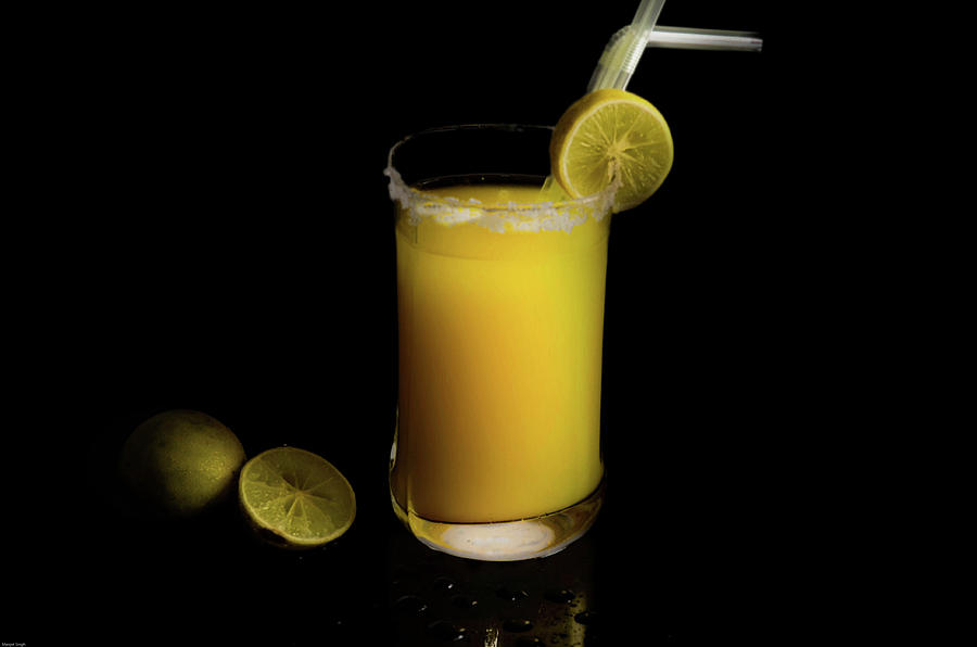 Sour Photograph - Whiskey Sour  by Manjot Singh Sachdeva