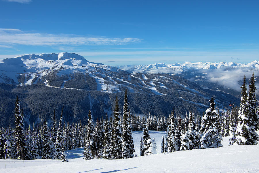 Whistler Mountain Photograph by Visualcommunications