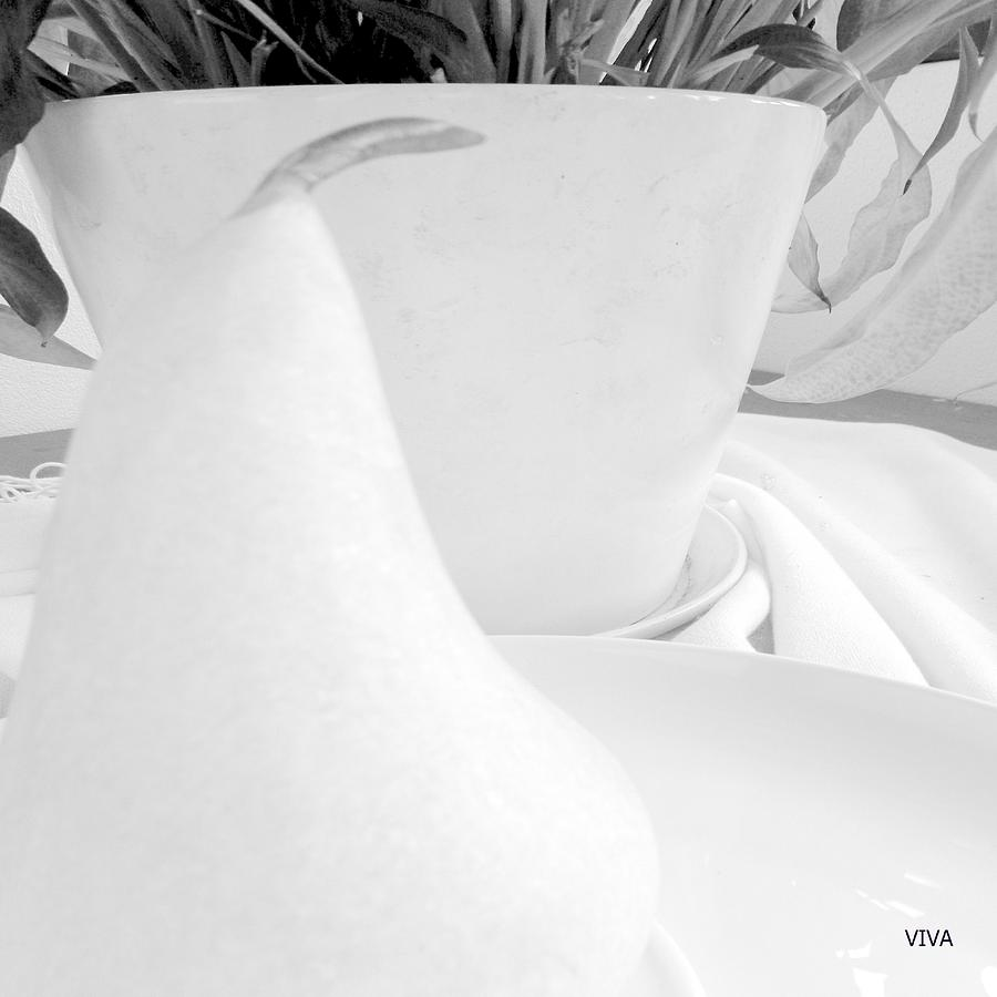 WHITE 4 Abstract by VIVA Anderson