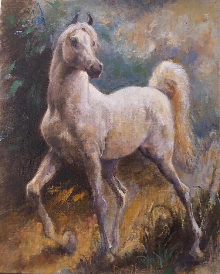 White Arabian by Ellen Dreibelbis