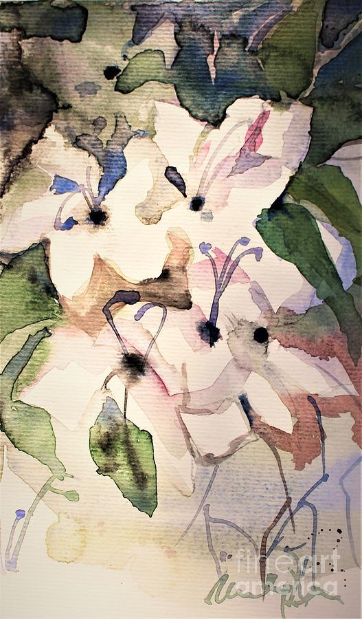 White Azalea by Mindy Newman