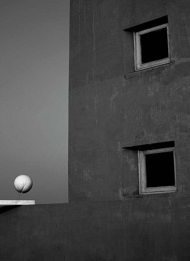 White Balloon Vs Windows by Prakash Ghai