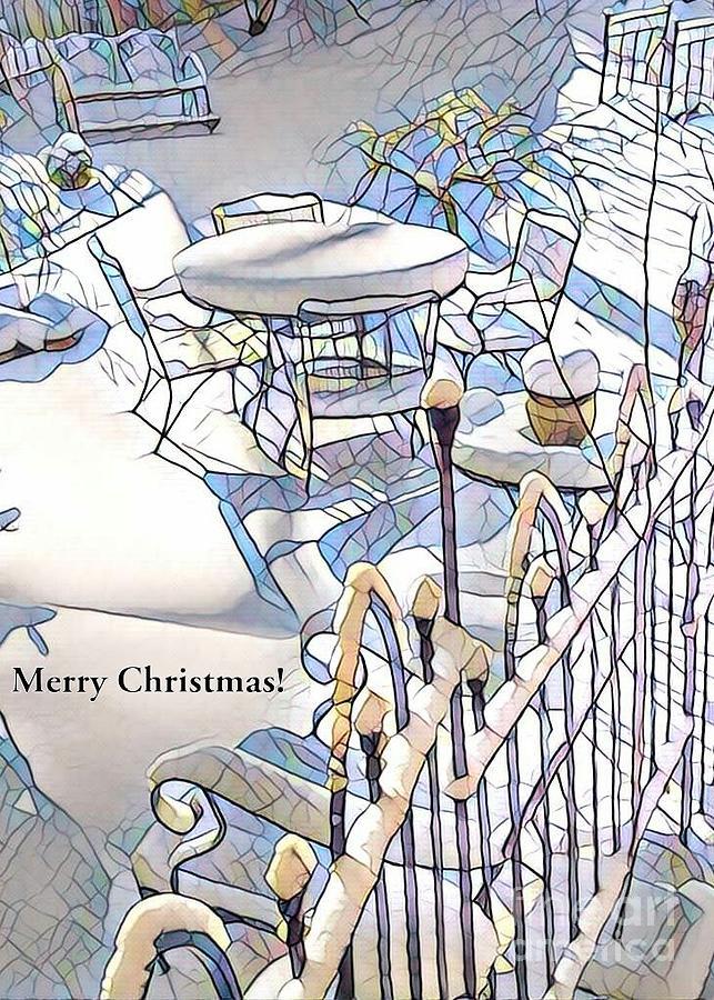 White Christmas by Jodie Marie Anne Richardson Traugott          aka jm-ART