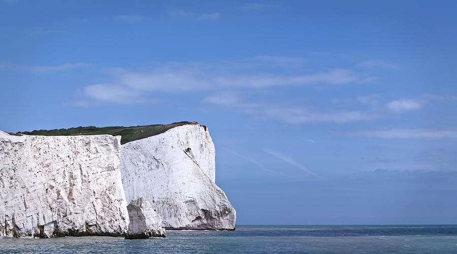 White Cliffs Of Dover Photograph by Dave Carr