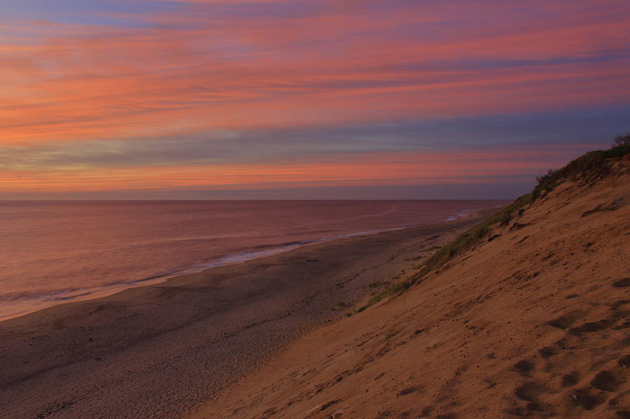 White Crest Beach Cape Cod Dawn by John Burk