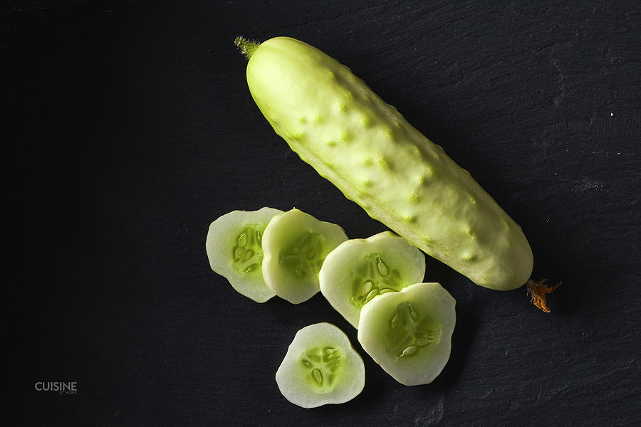 White cucumber by Cuisine at Home