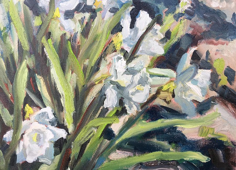 White Daffodils by Susan Elizabeth Jones