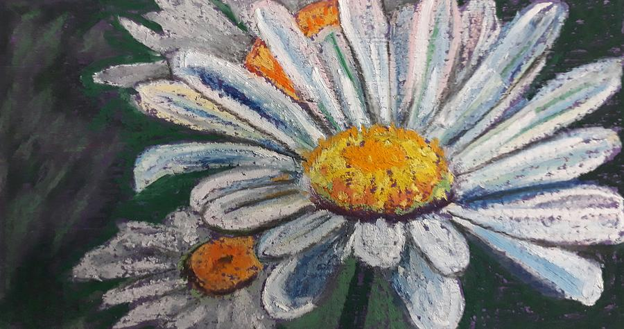 White daisy by Jacqui Simpson