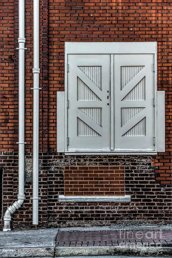 Home Decor Digital Art - White Doors by Elijah Knight