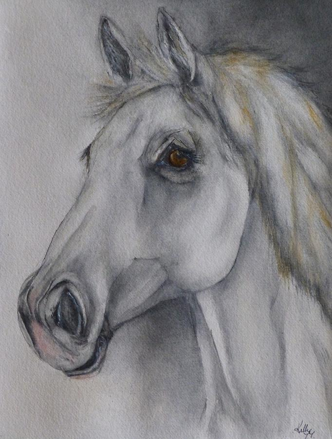 White Horse  by Kelly Mills