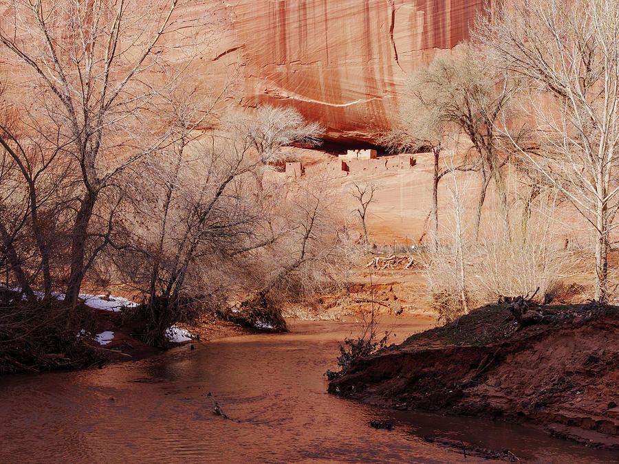 White House Ruin and Chinle Creek by Todd Bannor