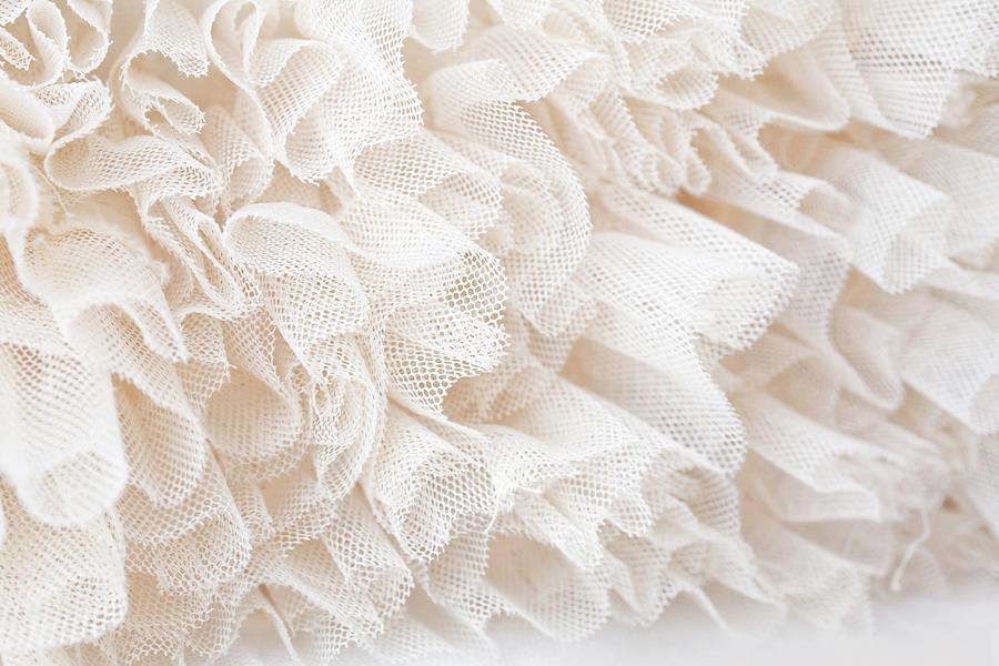 White Lace Photograph by Royalfive