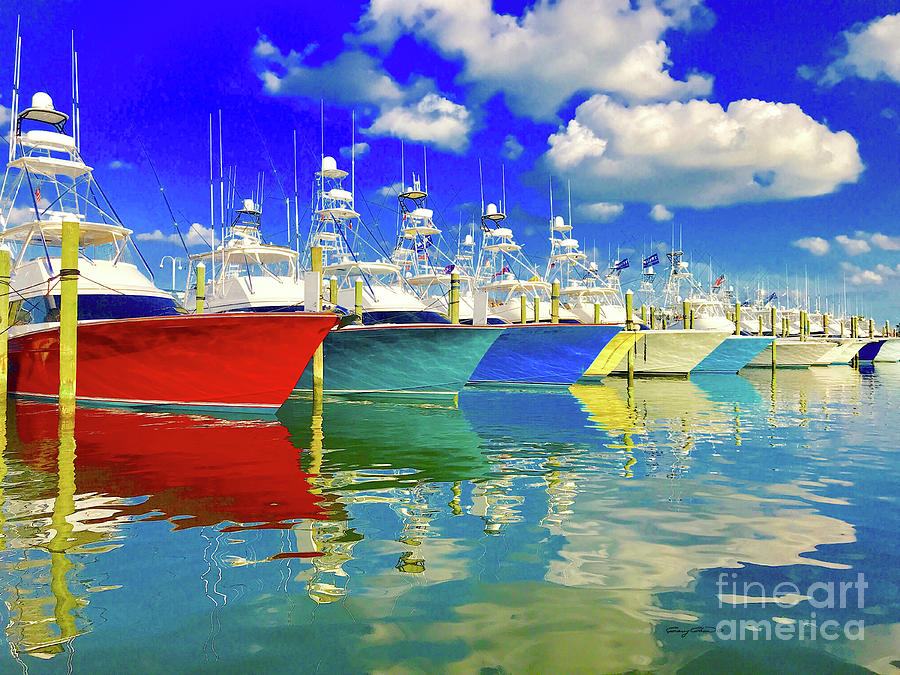 White Marlin Open 2018 Photograph