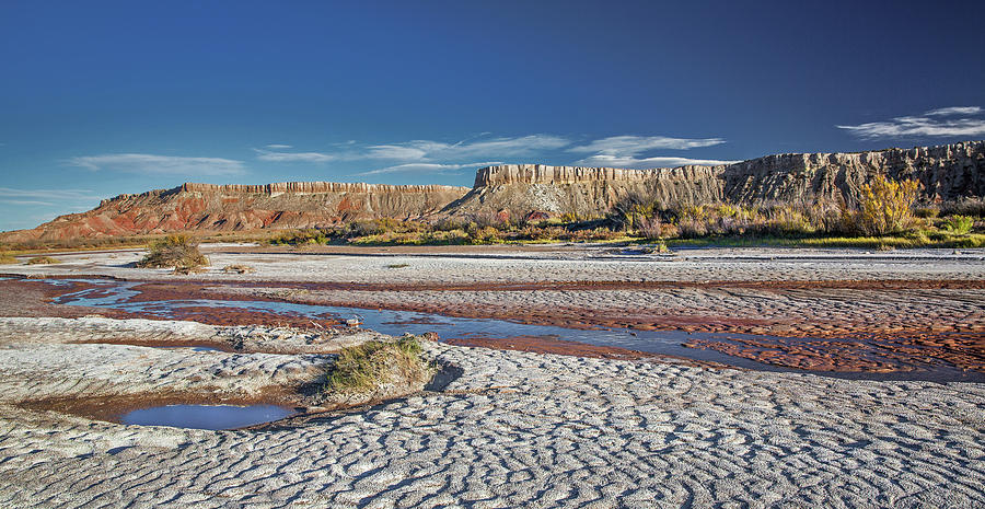 Landscape Photograph - White Mesa by Candy Brenton