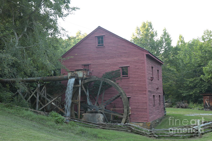 White Mill by Dwight Cook