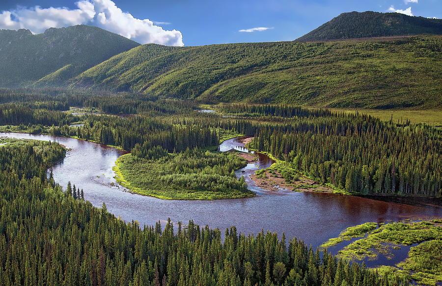 White Mountains of Alaska by Anthony Dezenzio
