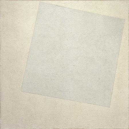White on White by Kazimir Malevich
