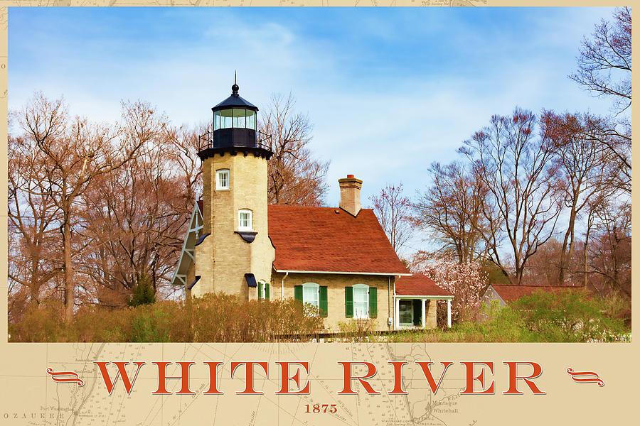White River 2 by Fran Riley