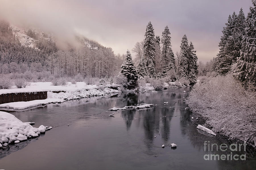 White River Dawn by Idaho Scenic Images Linda Lantzy