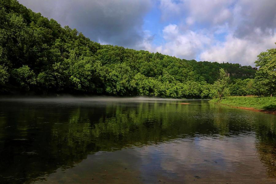 White River In Flippin Arkansas 2 Photograph