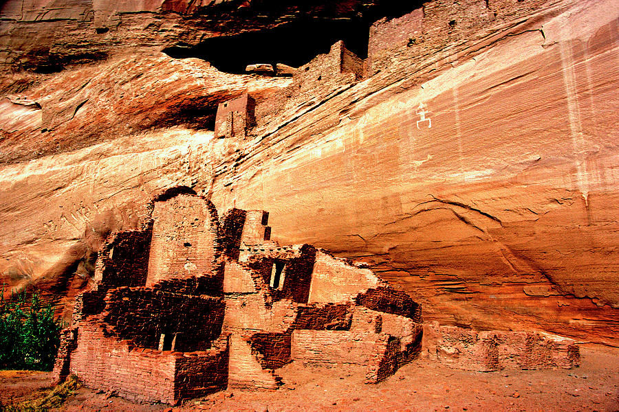 White Room House Ruin -  Canyon de Chelly by Paul W Faust - Impressions of Light