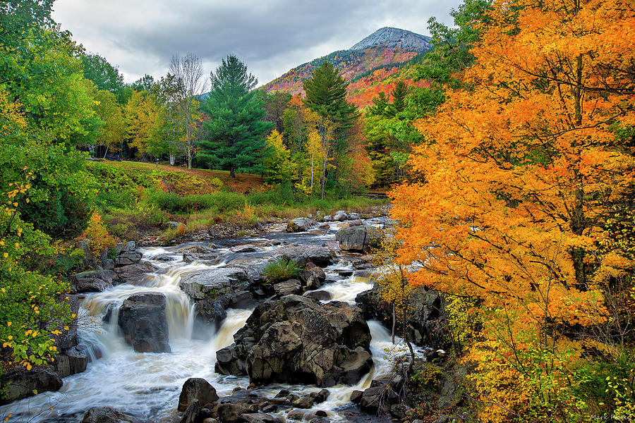 Whiteface Mountain And The Ausable River by Mark Papke