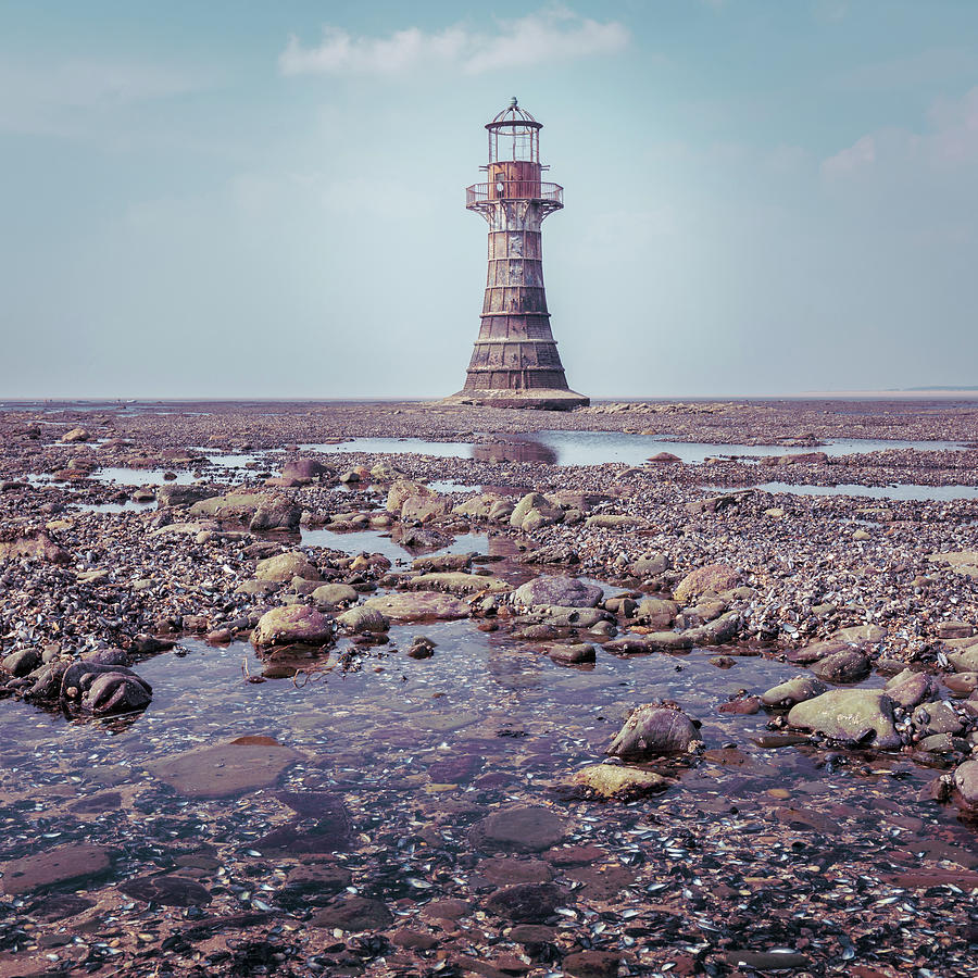 Whiteford Point Lighthouse Photograph