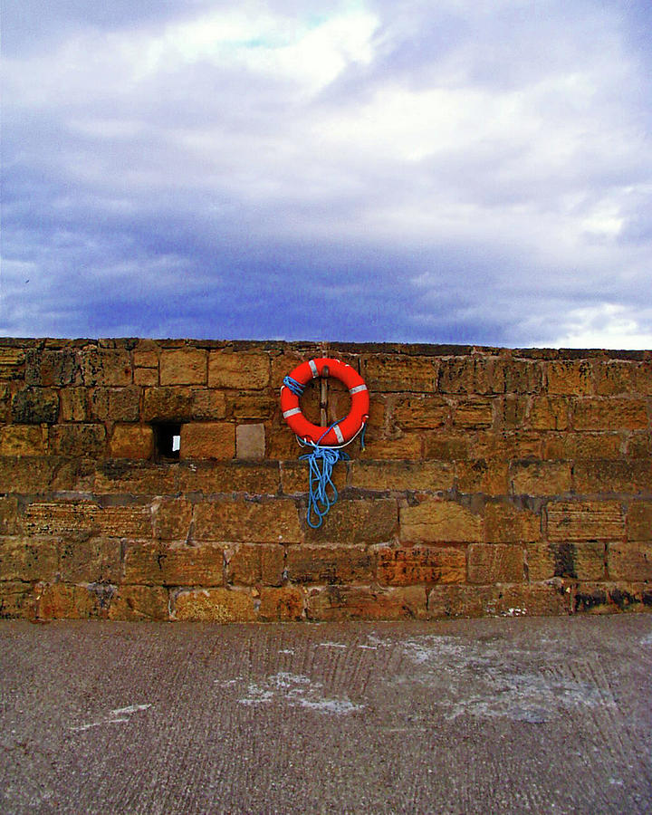 WHITEHAVEN. Lifebelt On The Harbour. by Lachlan Main